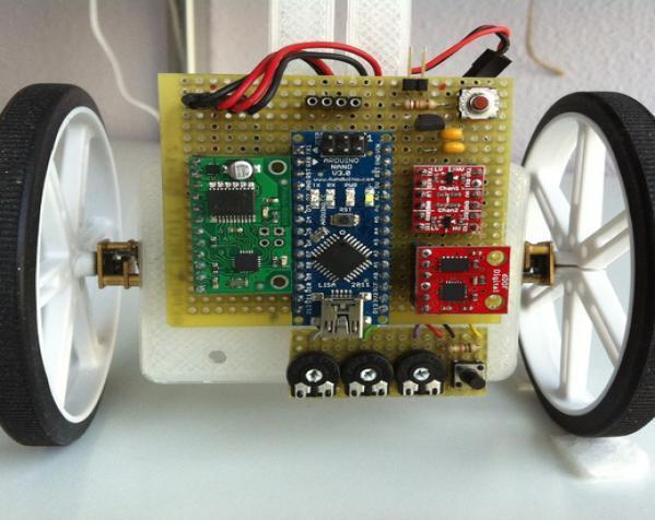 VertiBOT机器车 3D模型  图3