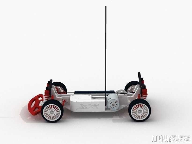 遥控车 3D模型  图3