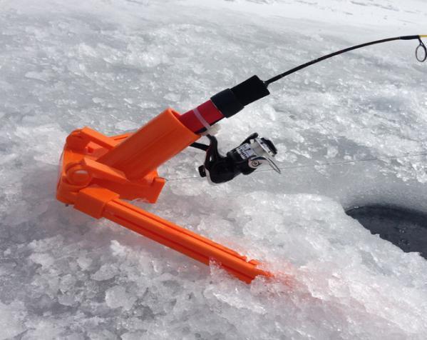 自动钓鱼竿 3D模型  图2
