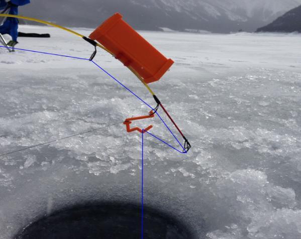 自动钓鱼竿 3D模型  图3