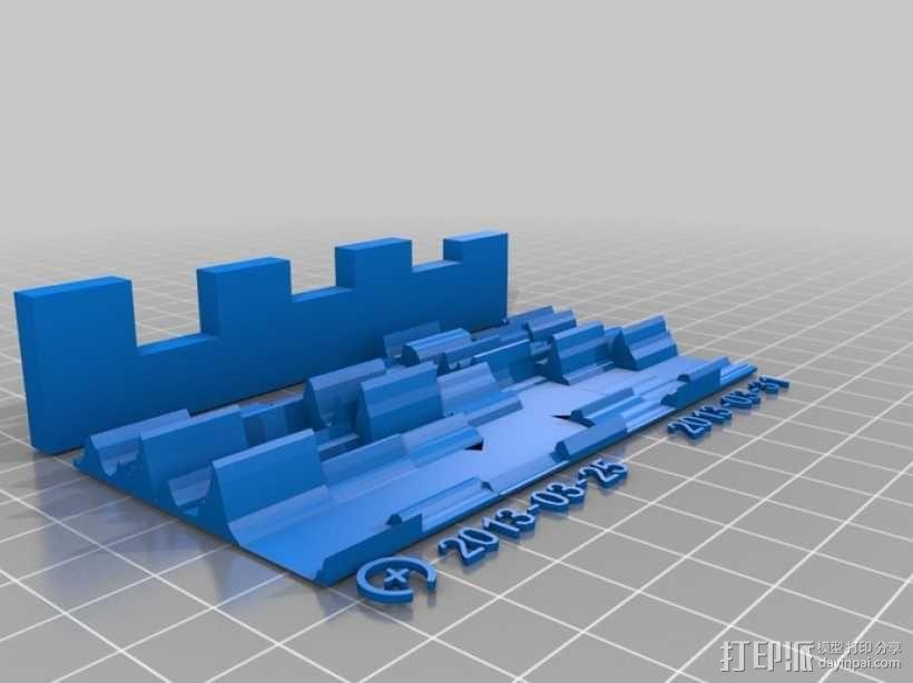 活动统计图 3D模型  图3