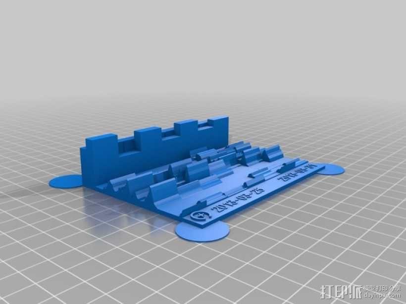 活动统计图 3D模型  图2