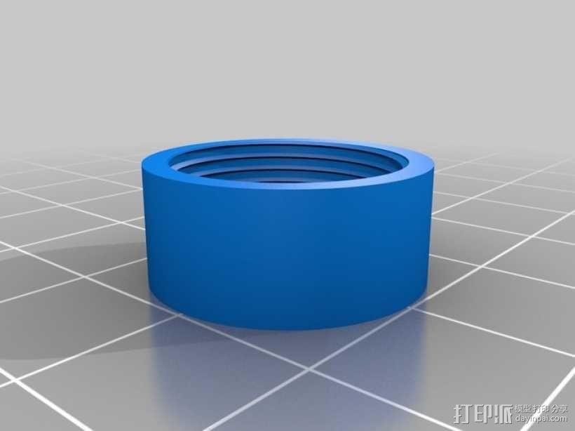 便携式鱼竿 3D模型  图8