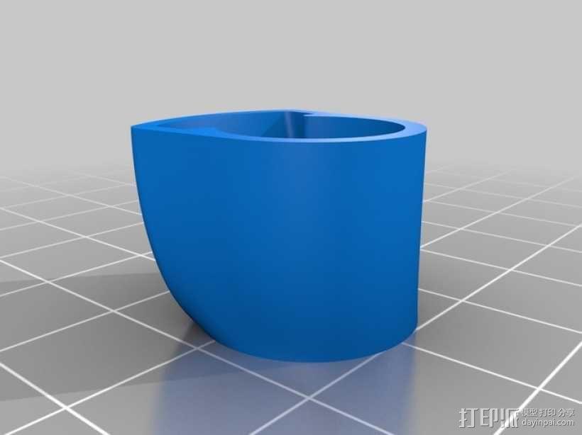便携式鱼竿 3D模型  图16