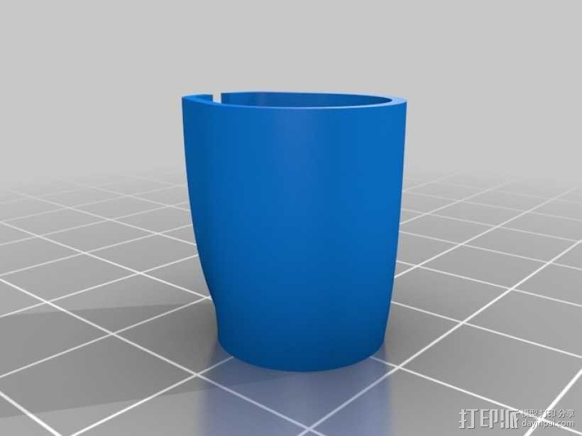 便携式鱼竿 3D模型  图17