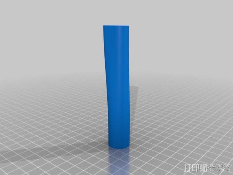 便携式鱼竿 3D模型  图18