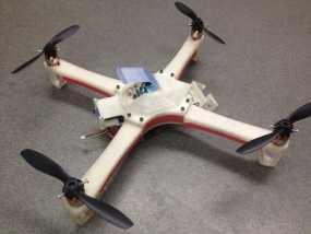 四翼飞行器 3D模型
