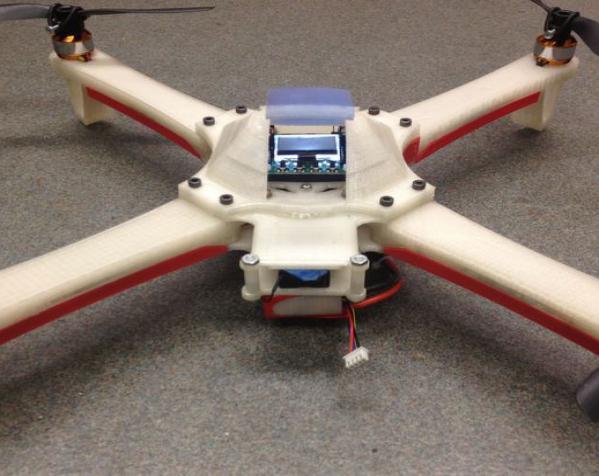 四翼飞行器 3D模型  图2