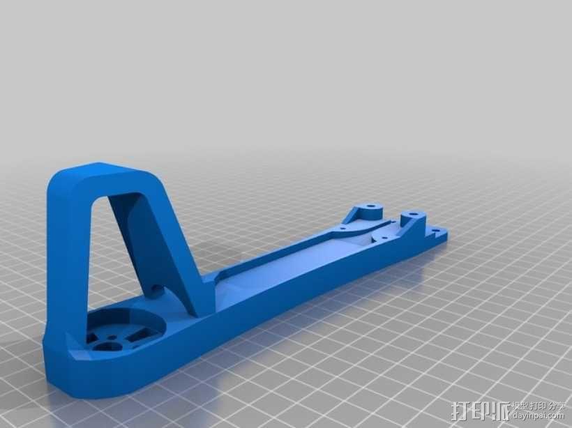 四翼飞行器 3D模型  图6