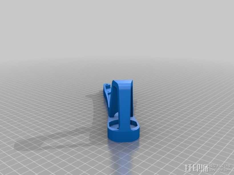 四翼飞行器 3D模型  图7