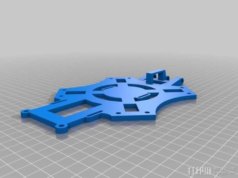 四翼飞行器 3D模型  图9