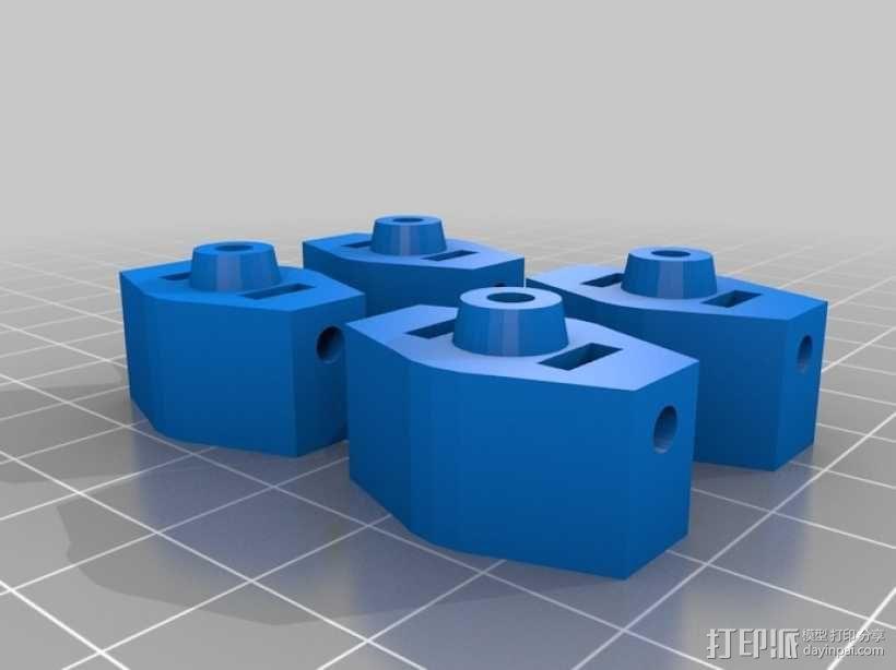 四翼飞行器 3D模型  图11