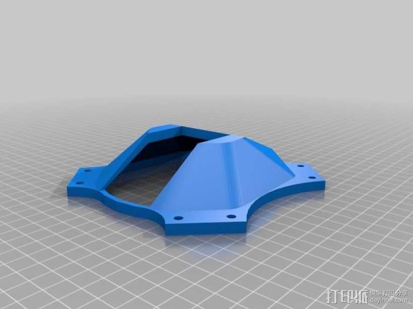 四翼飞行器 3D模型  图10