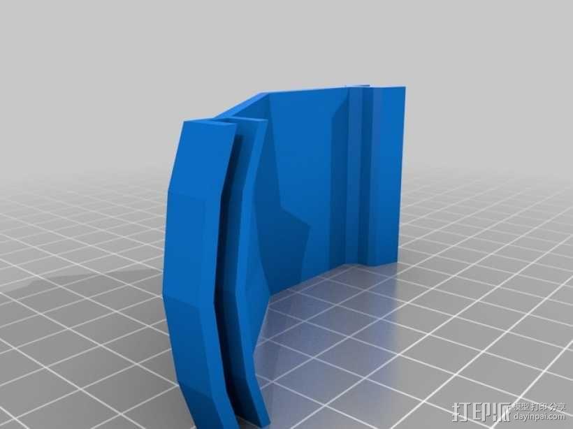 四翼飞行器 3D模型  图12