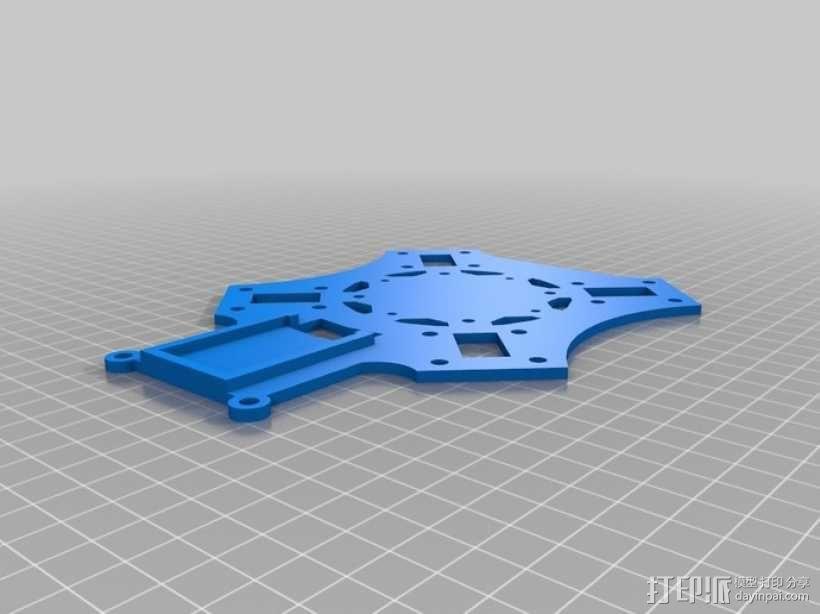 四翼飞行器 3D模型  图15