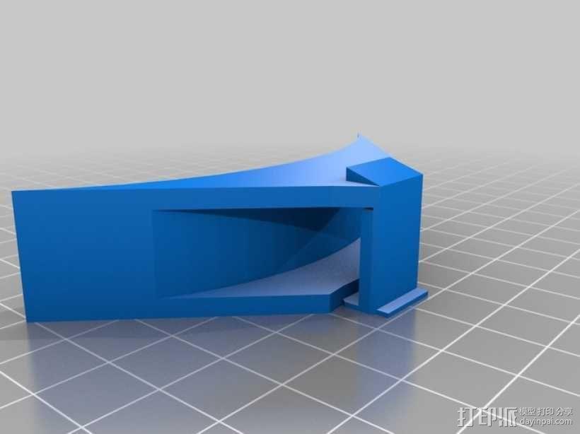 四翼飞行器 3D模型  图14