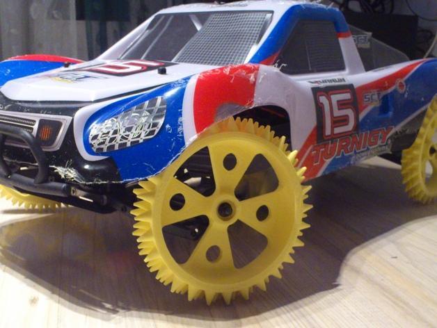 防滑车轮 3D模型  图1