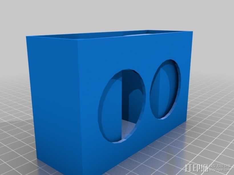 迷你音箱 3D模型  图4