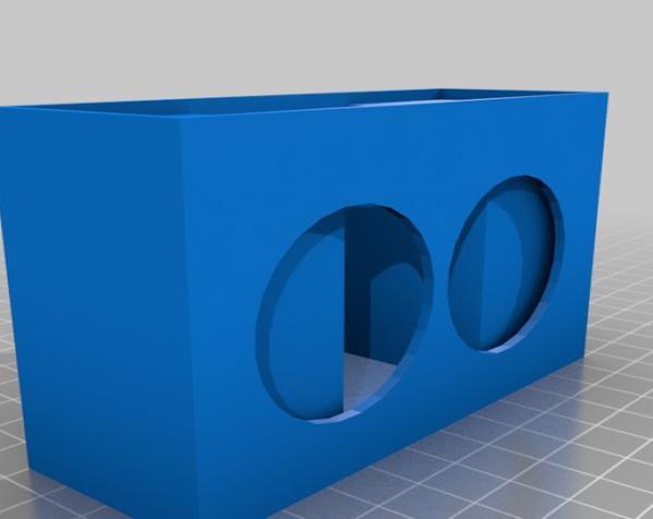 迷你音箱 3D模型  图2