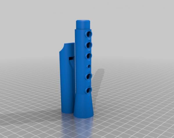 口笛 3D模型  图3