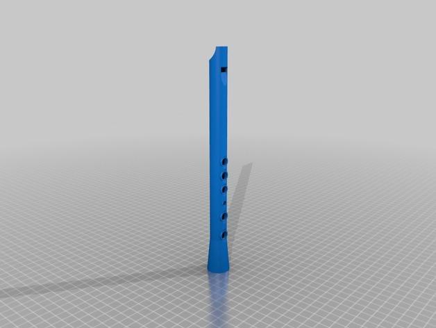 口笛 3D模型  图1