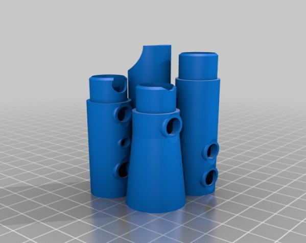 口笛 3D模型  图4
