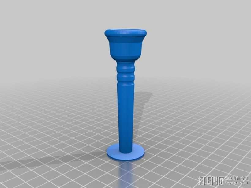 哨嘴 3D模型  图1