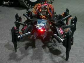 六足虫机器人 3D模型
