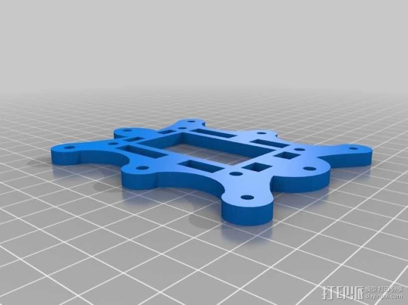 六足虫机器人 3D模型  图5