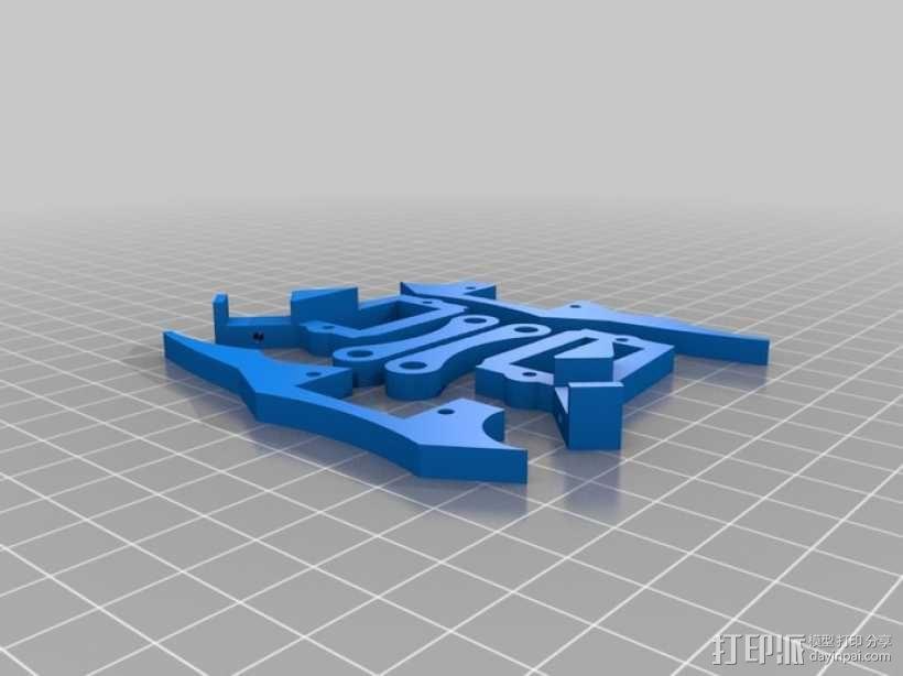 六足虫机器人 3D模型  图6
