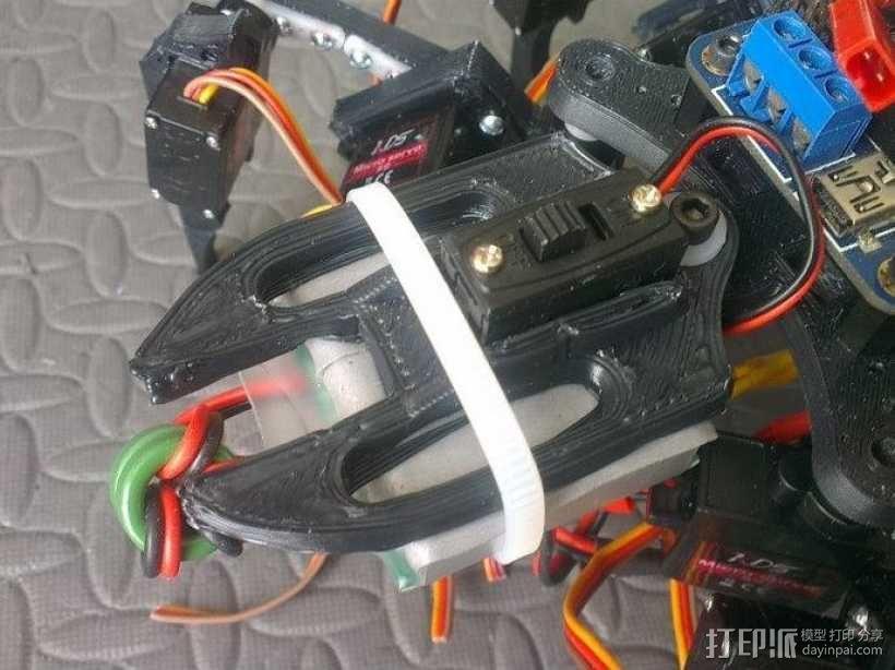 六足虫机器人 3D模型  图9