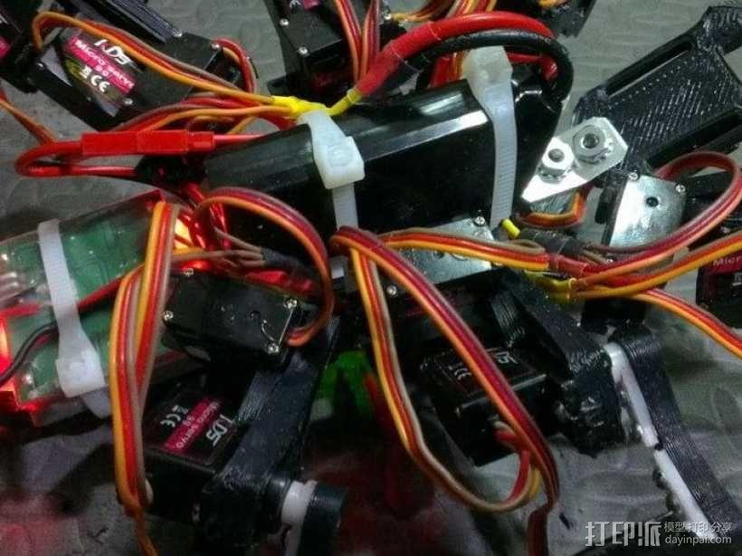 六足虫机器人 3D模型  图11