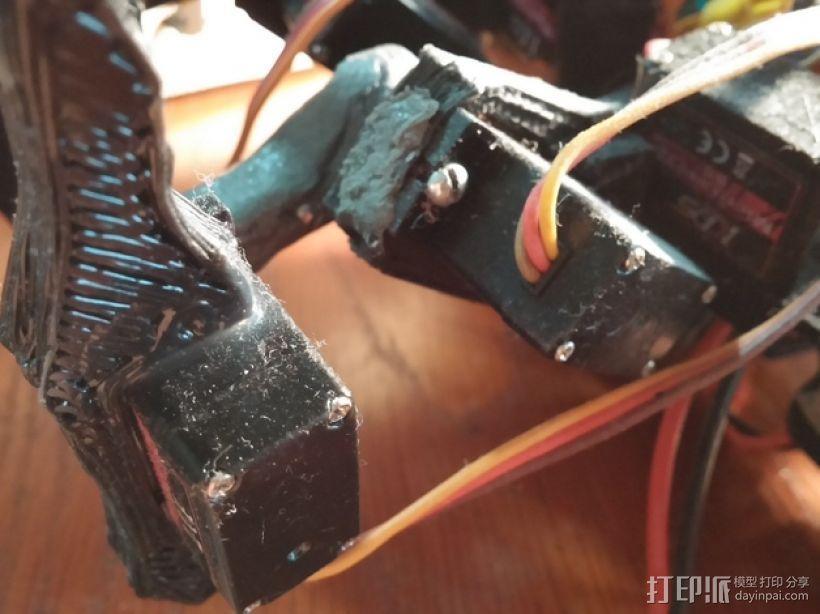 六足虫机器人 3D模型  图14