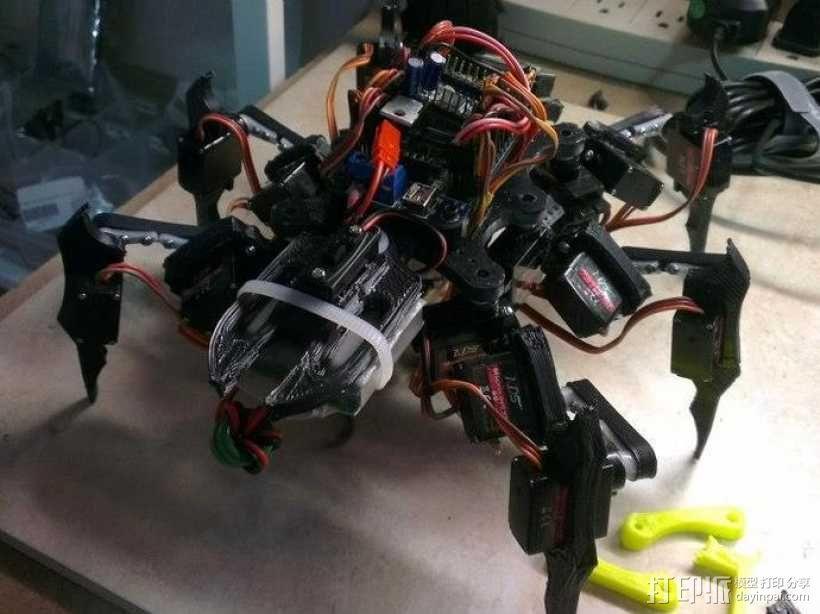 六足虫机器人 3D模型  图12