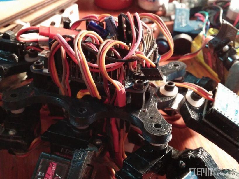 六足虫机器人 3D模型  图16