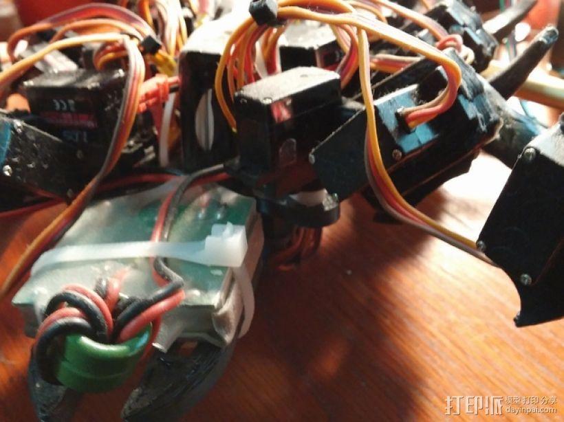 六足虫机器人 3D模型  图17