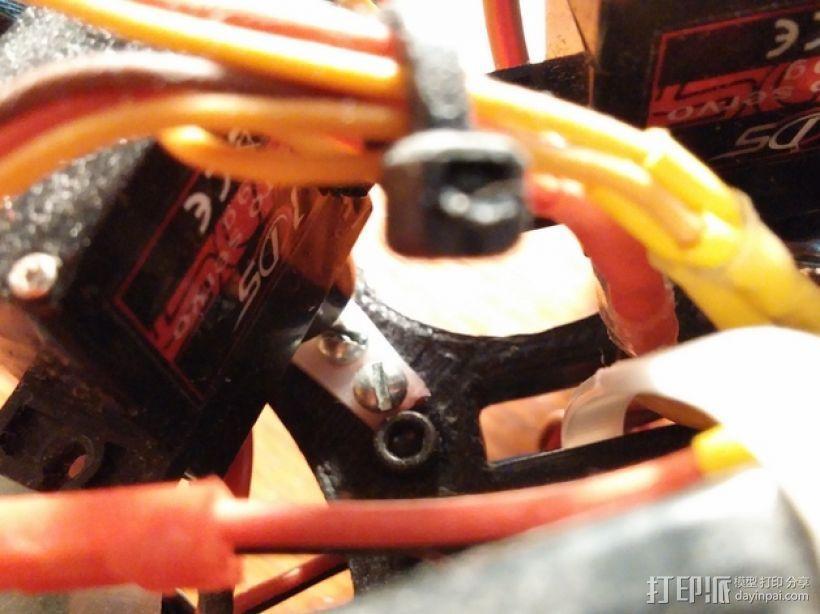 六足虫机器人 3D模型  图22