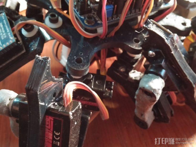 六足虫机器人 3D模型  图21