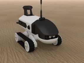 汽车机器人 3D模型