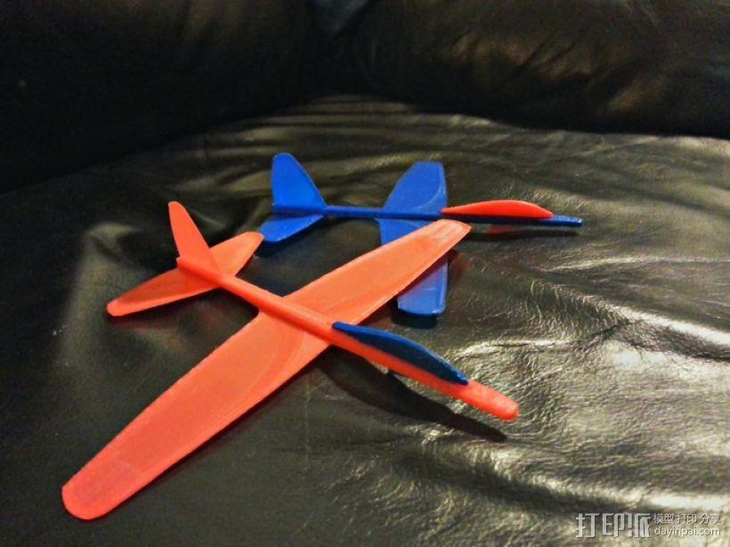 滑翔机 3D模型  图4