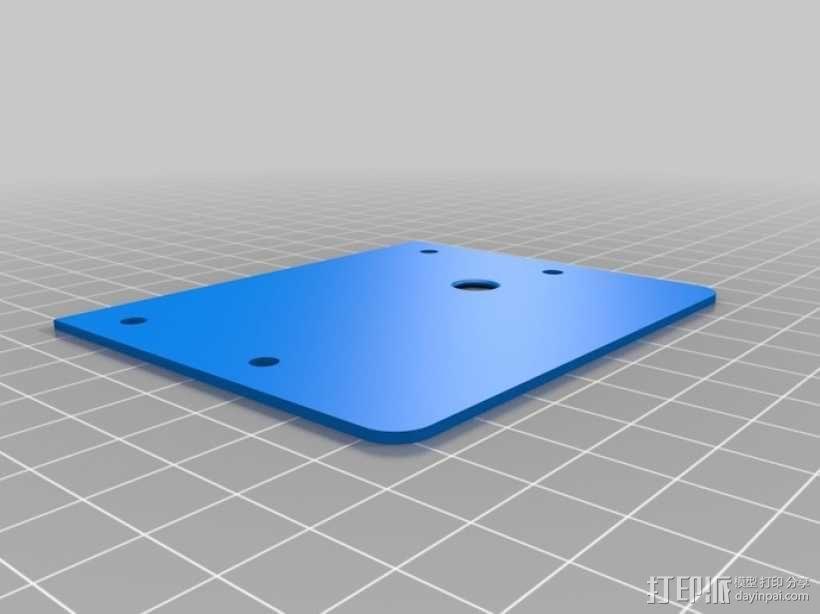 太阳能立体声音响 3D模型  图4