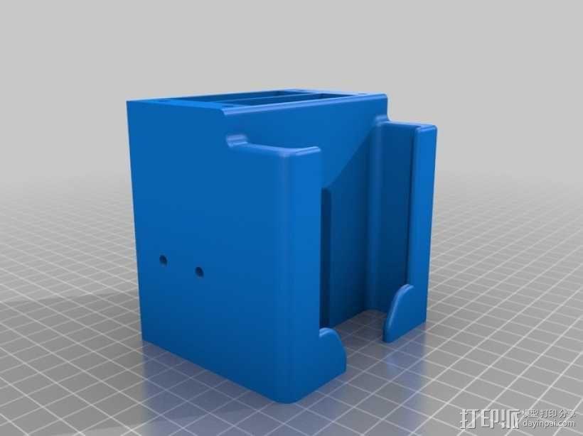 太阳能立体声音响 3D模型  图5