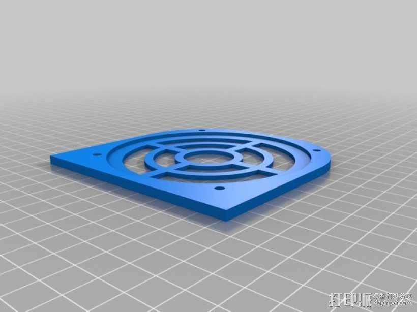太阳能立体声音响 3D模型  图11