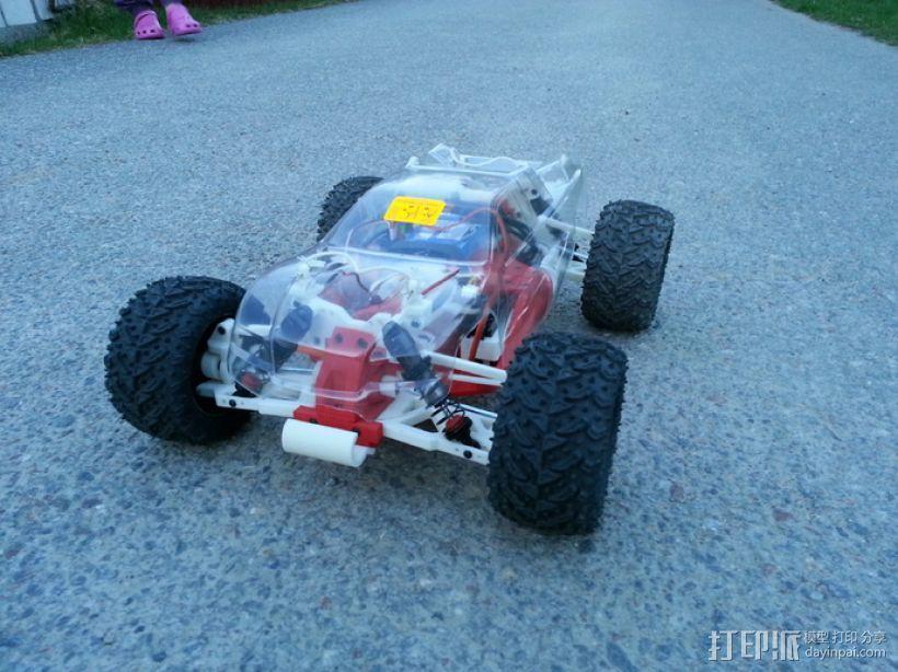 遥控车 3D模型  图1