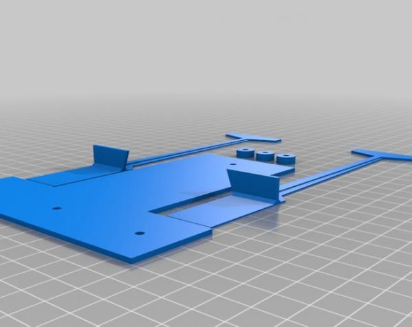赛车车道 车道门 3D模型  图1