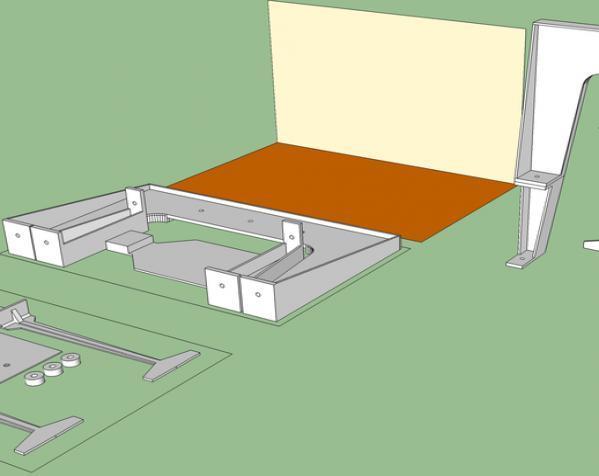 赛车车道 车道门 3D模型  图3