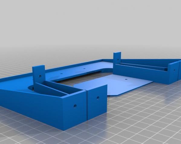 赛车车道 车道门 3D模型  图4