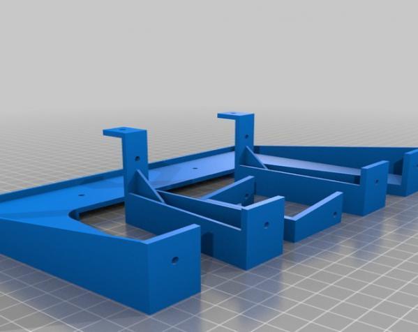 赛车车道 车道门 3D模型  图13