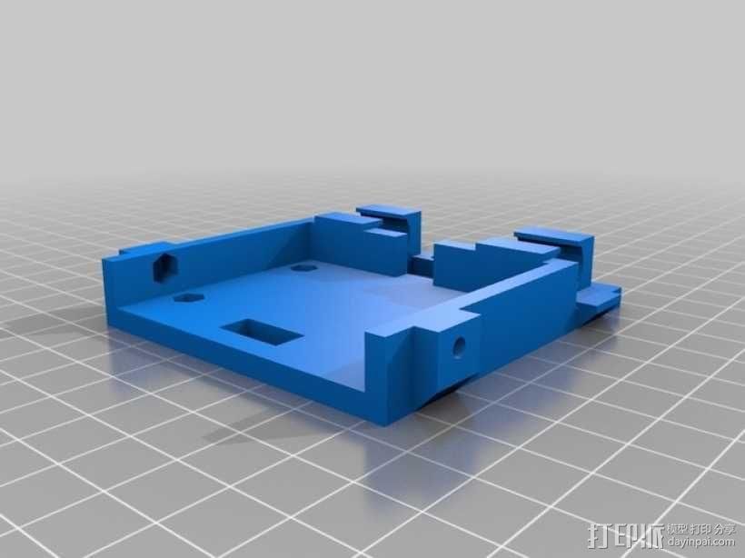 推土机 3D模型  图3