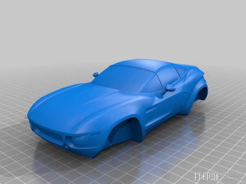Rally Fighter车身 3D模型  图1
